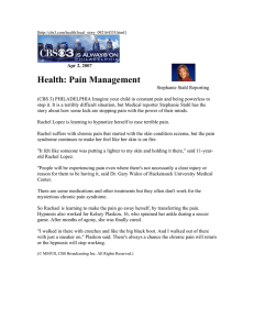 Health: Pain Management