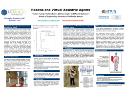 Robotic and Virtual Assistive Agents