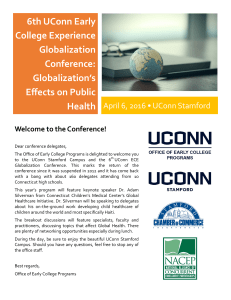 6th UConn Early College Experience Globalization Conference: