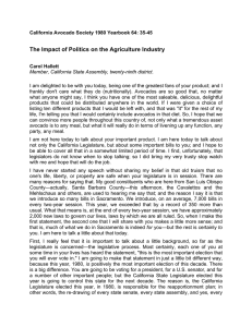 The Impact of Politics on the Agriculture Industry