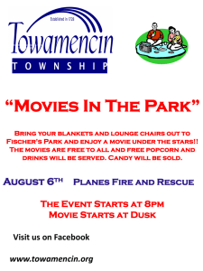 """Movies In The Park"""