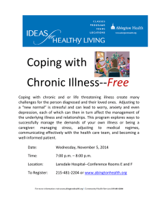 Coping with Chronic Illness--  Free