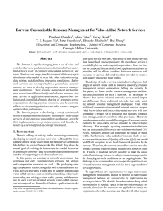 Darwin: Customizable Resource Management for Value-Added Network Services