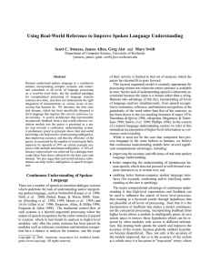 Using Real-World Reference to Improve Spoken Language Understanding