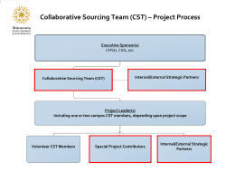 Collaborative Sourcing Team (CST) – Project Process
