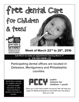 Free  Dental Care For Children