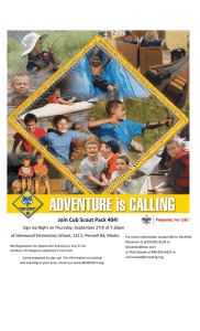 Join Cub Scout Pack 404!