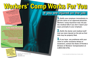 Workers' Comp Works For You 1.
