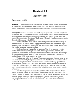 Handout 4-2 Legislative Brief  Date: