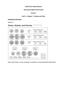 North Penn School District Elementary Math Parent Letter Grade 2
