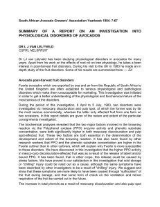 SUMMARY OF A REPORT ON AN INVESTIGATION INTO