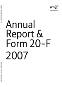 Annual Report & Form 20-F 2007