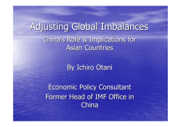 Adjusting Global Imbalances