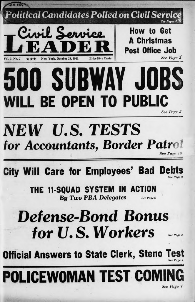 500 SUBWAY JOBS □ L