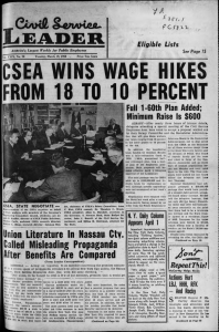 CSEA  WINS  WAGE  HIKES L .