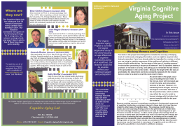 Virginia Cognitive Aging Project