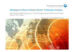 Strategies to Revive Global Growth: A Scenario Analysis
