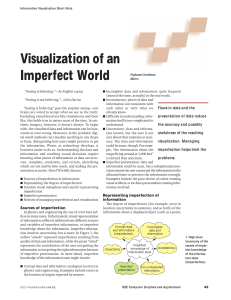 Visualization of an Imperfect World