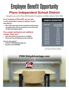 Plano Independent School District How Much?