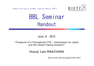 BBL Seminar Handout Hosuk Lee-MAKIYAMA June 8, 2012