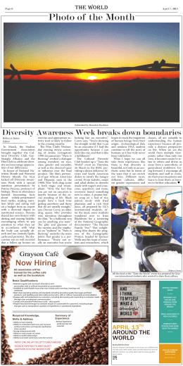 Diversity Awareness Week breaks down boundaries