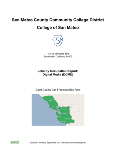 San Mateo County Community College District College of San Mateo