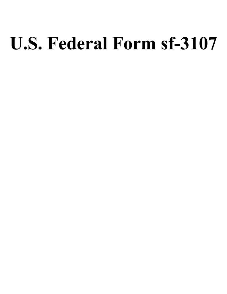 Us federal form sf 3107 falaconquin