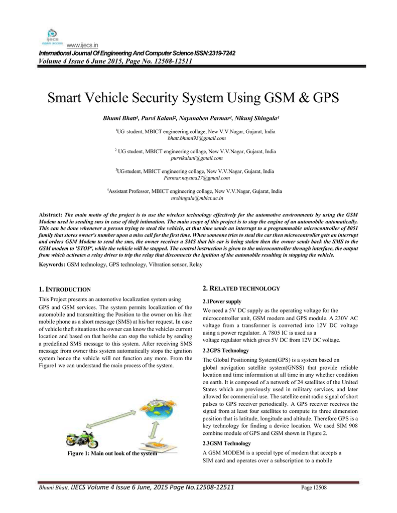 Smart Vehicle Security System Using Gsm Gps Modem Interfacing With 8051 Microcontroller At89c51 014098688 1 8ceb33a7d062e94cfabf08002cf03414