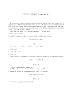 CSC282 Fall 2005 Homework #2