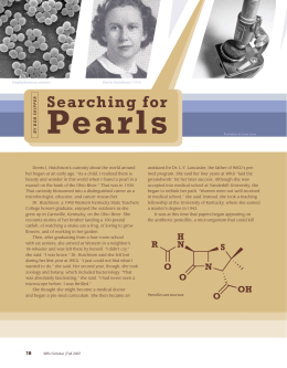 Pearls Searching for