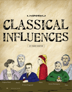 Classical  INFLUENCES •