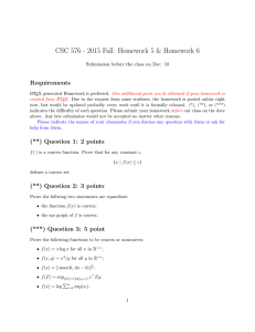 CSC 576 - 2015 Fall: Homework 5 & Homework 6 Requirements