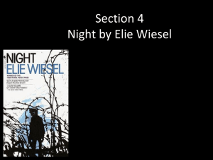 Section 4 Night by Elie Wiesel