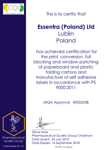 Essentra (Poland) Ltd Lublin Poland
