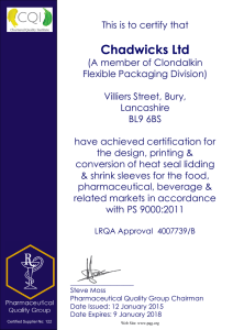 Chadwicks Ltd