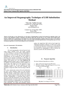 www.ijecs.in International Journal Of Engineering And Computer Science ISSN:2319-7242