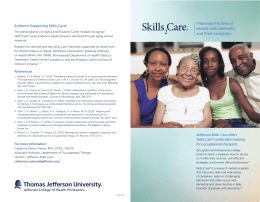 Improves the lives of people with dementia and their caregivers
