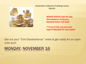 November is Banana Pudding Lovers Month! BONUS POINTS: See the play