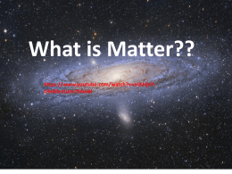 What is Matter??  o9s&feature=fvwrel