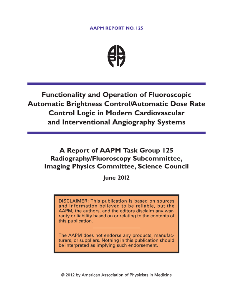 Functionality and operation of fluoroscopic automatic brightness functionality and operation of fluoroscopic automatic brightness controlautomatic dose rate ccuart Choice Image