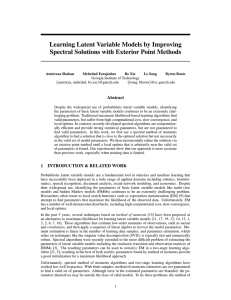 Learning Latent Variable Models by Improving