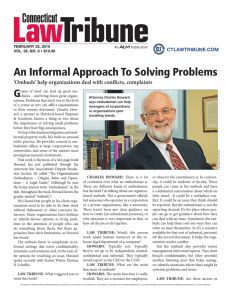 An Informal Approach To Solving Problems G ctlawtribune.com
