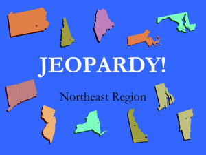 JEOPARDY! Northeast Region