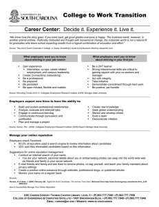 Career Center:
