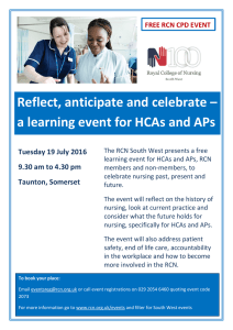 Reflect, anticipate and celebrate – Tuesday 19 July 2016