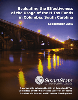 Evaluating the Effectiveness of the Usage of the H-Tax Funds September 2015