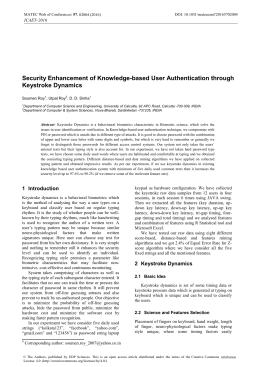 user authentication through mouse dynamics