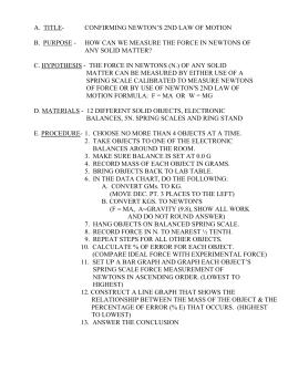 Work & Power Worksheet