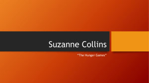 "Suzanne Collins ""The Hunger Games"""