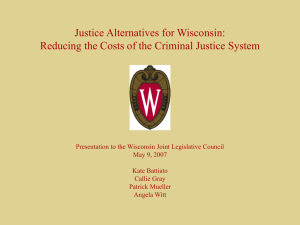 Justice Alternatives for Wisconsin: